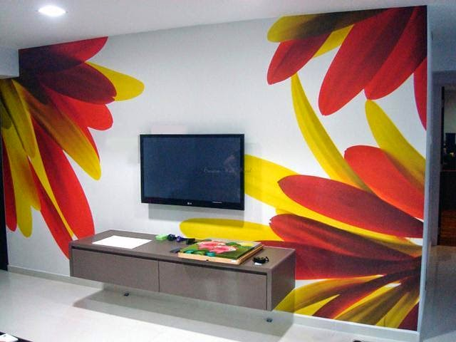 Wall painting creative ideas wall painting ideas and colors A wall painting
