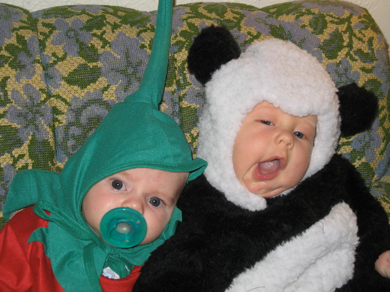 One of the first things I made for my son was a Halloween costume. He was the cutest little baby panda!  sc 1 st  The Mary Frances Project & The Mary Frances Project: The Costumes of Halloweens Past