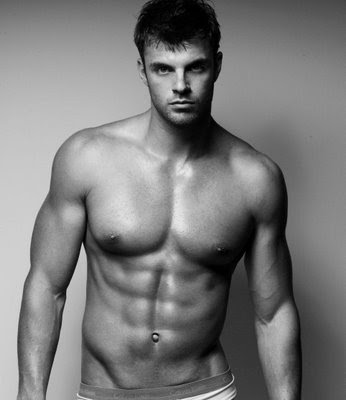 how to build a male model body