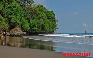 Wisata Pangandaran : Menikmati keseruan liburan yang sebenarnya di Pantai batu karas Pangandaran!!!