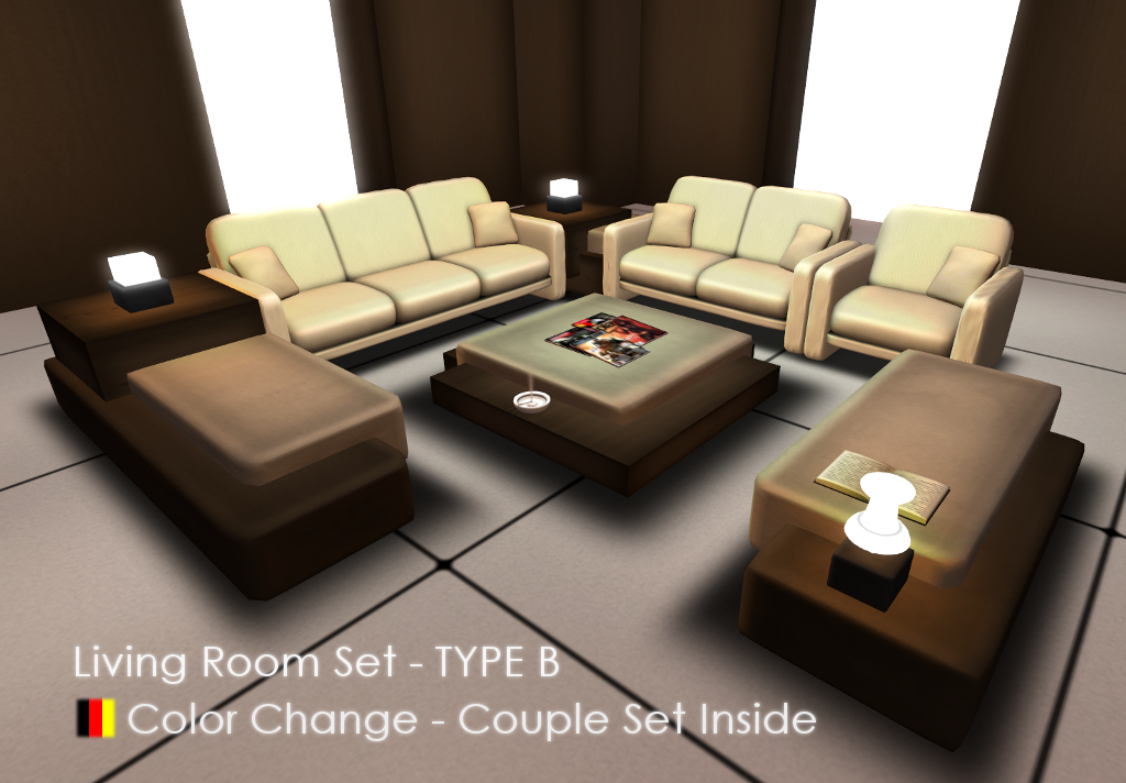 Living Room Set   Type B (Color Change)