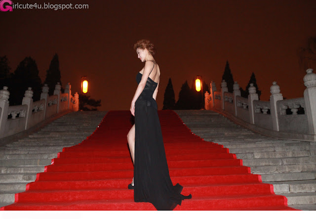 4 Li Yingzhi red carpet shape-very cute asian girl-girlcute4u.blogspot.com