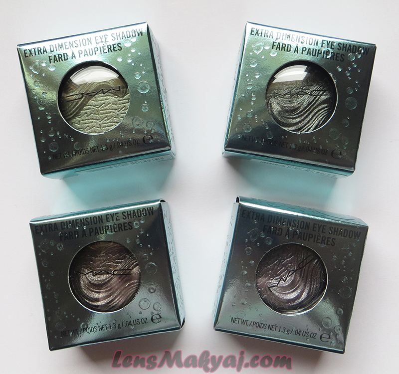 MAC Alluring Aquatic Eyeshadows