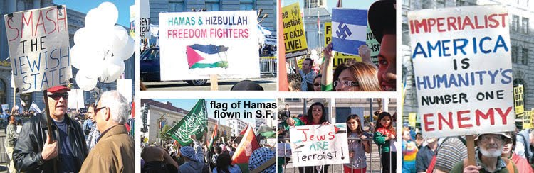 "Nice ""peace activists"" in the photos below huh?"