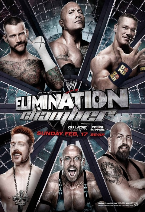   WWE Elimination Chamber 2013 youtube      kamel