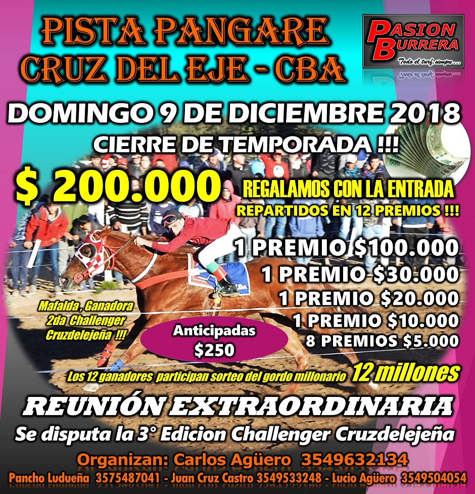 PANGARE - 9 DIC. 2018