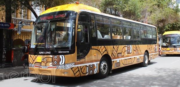 Transporte masivo en La Paz