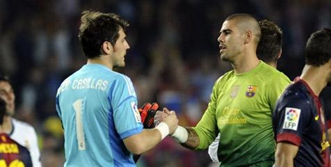 Pemain Barcelona selalu mengkritik pelatih Real Madrid jika mencadangkan Casillas