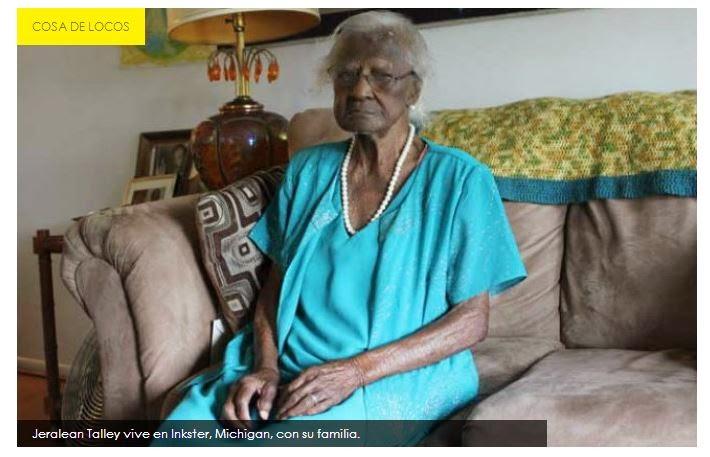 """""""yanqui"""" más viejita cumple 115 años"""