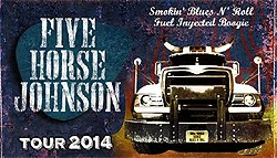 Five Horse Johnson en mayo y junio 2014