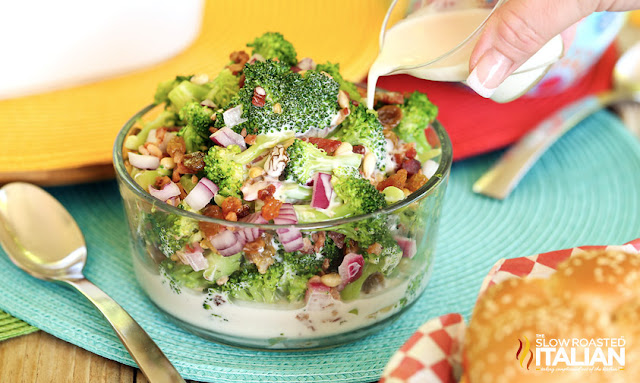 http://www.theslowroasteditalian.com/2014/06/best-ever-broccoli-salad.html