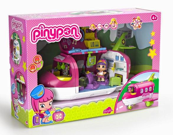 JUGUETES - PINYPON - Avión  Producto Oficial | Famosa 700010562 | A partir de 4 años