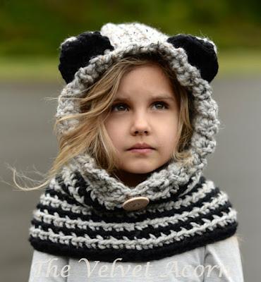 gorros tejidos de punto para niñas