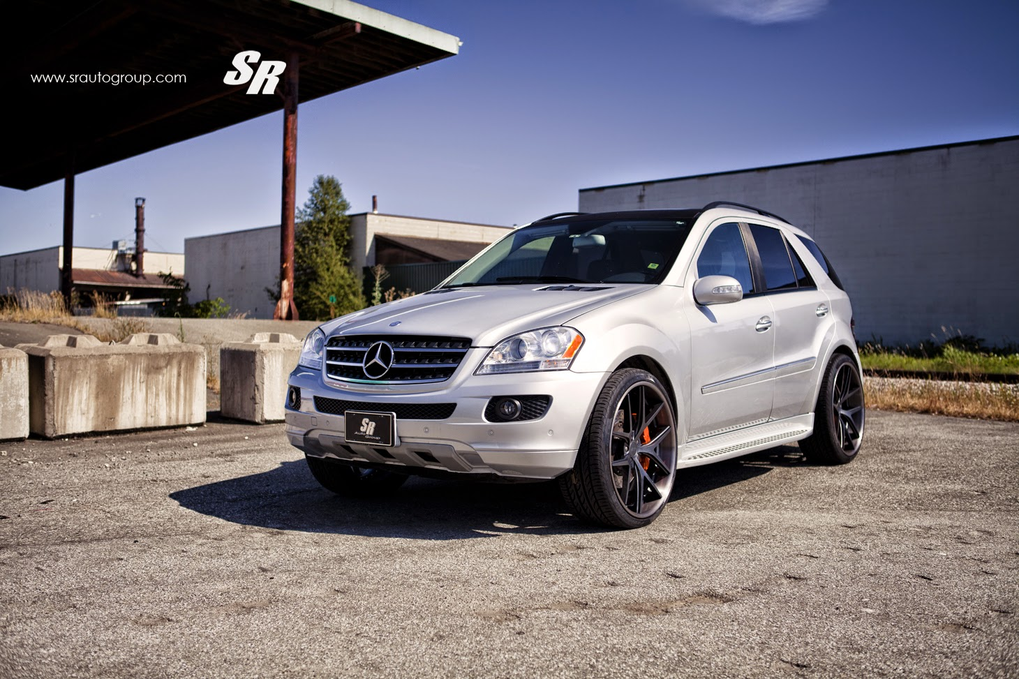 Mercedes benz w164 ml320 on pur wheels benztuning for Mercedes benz wheel