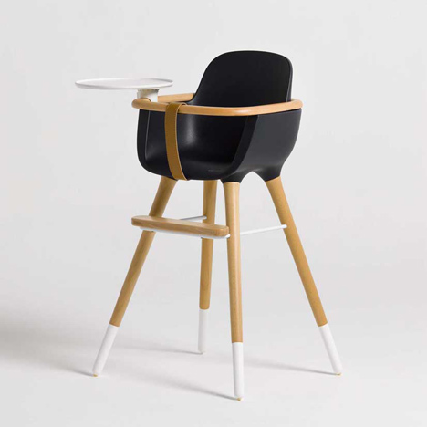 dezeen Ovo high chair by CuldeSac