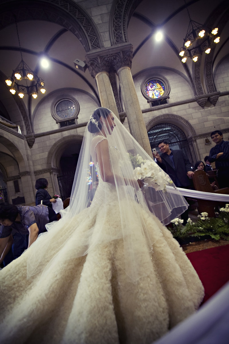 Why Do You Deserve a Cecilio Abad Gown? ~ The Rebellious Brides