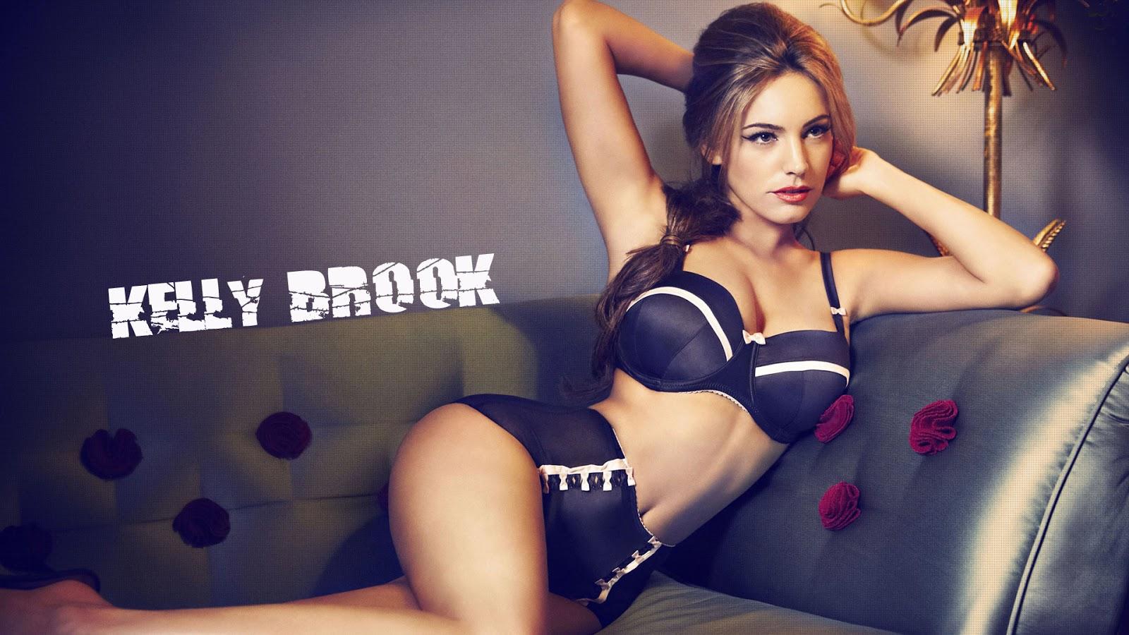Black Kelly lingerie brook