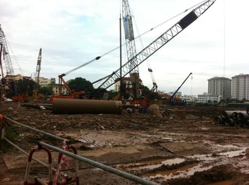 Tiến độ xây dựng HD Mon city