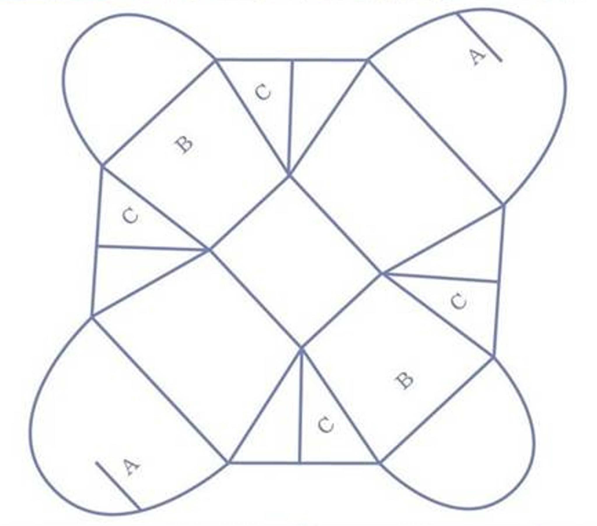 Шаблон коробочки своими руками 16