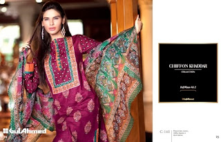 Gul Ahmed Khaddar Fall winter 2013 Colletion