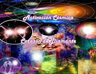 Estos eventos marcarán el 'Proceso final de la Tierra' en el ingreso a las Redes Multidimensionales, por la Activación de las frecuencias del Corazón de Diamante Cósmico, que marcará el Nacimiento del Alma de la Nueva Tierra.
