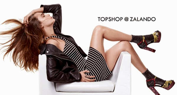 vestido Topshop at Zalando Cara Delevingne