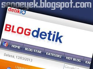 Cara membuat blog di blogdetik dengan langkah panduan sederhana cepat lengkap disertai gambar langkah mudah singkat bikin blog website pribadi