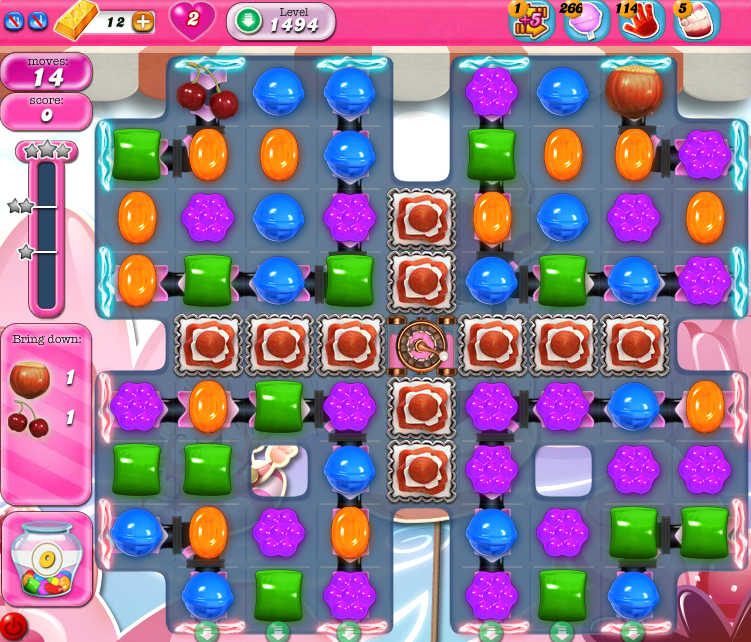 Candy Crush Saga 1494