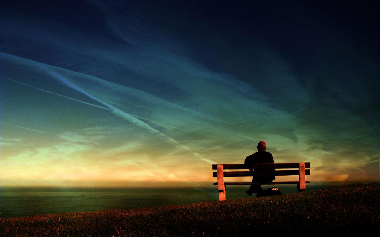 Contemplando el horizonte