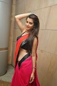 Deeksha panth sizzling saree stills-thumbnail-2