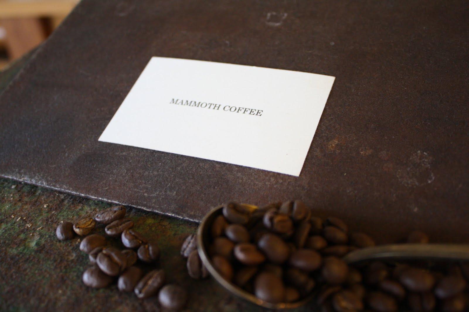 MAMMOTH COFFEE         マンモスコーヒー