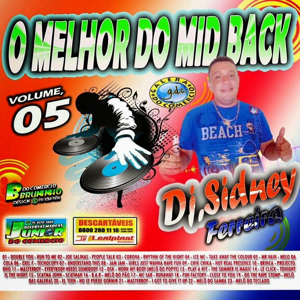 O MELHOR DO MIDBACK - CD VOL 05 - 2014 -