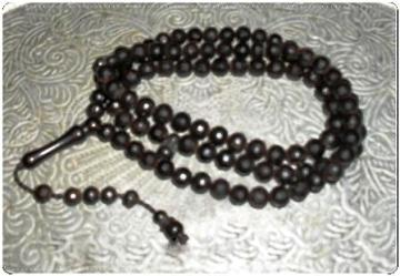 Tasbih 99 Kayu Kokka Cutting Diamond Mesir 7mm