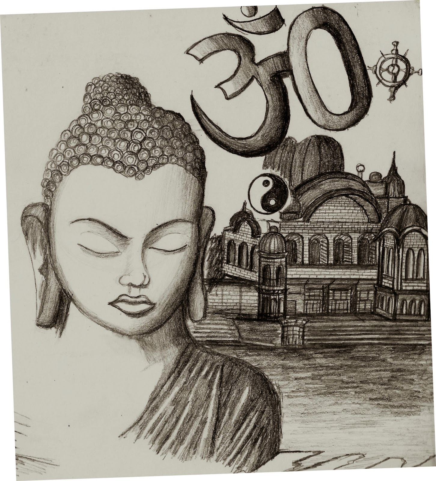 gefunden zu Siddhartha Deo auf http://dibujoscomplejos.blogspot.com