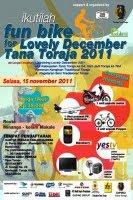 Jika tidak ada aral melintang, pada 15 Nopember 2011 mendatang, Pemerintah Kabupaten (Pemkab) Tana Toraja akan menggelar kegiatan fun bike. Dalam rangka menyukseskan kegiatan ini, pemkab Tana Toraja menggandeng lembaga Journalist Supporting Toraja Tourism untuk menyelenggarakan