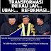 TRANSFORMASI...INIKALI LAH... UBAH... REFORMASI....SELAMATKAN MALAYSIA!!! - PANDIKAR AMIN MULIA
