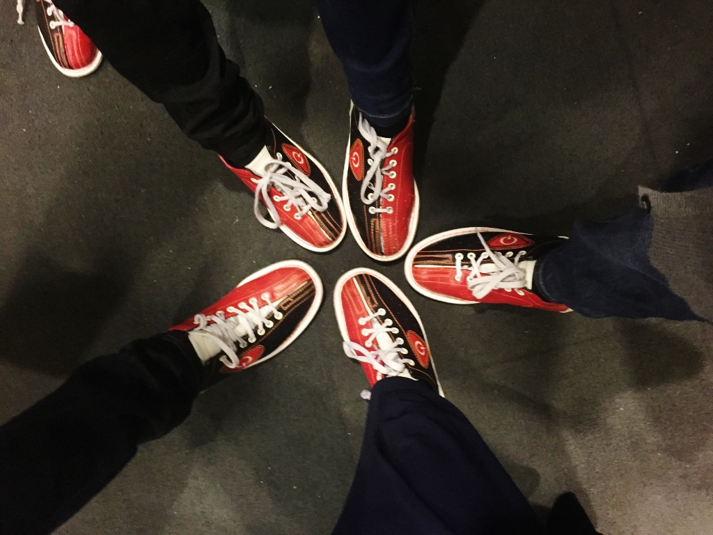 bowling with the cousins