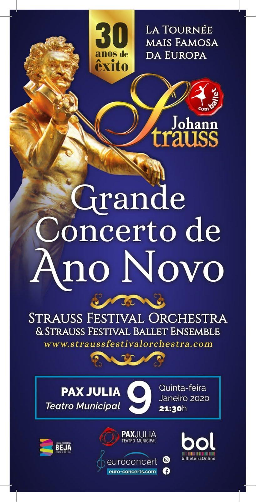 GRANDE CONCERTO DE ANO NOVO   JOHANN STRAUSS
