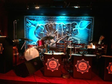Chuck and Lori's Travel Blog - Swing46's Band Stand, New York