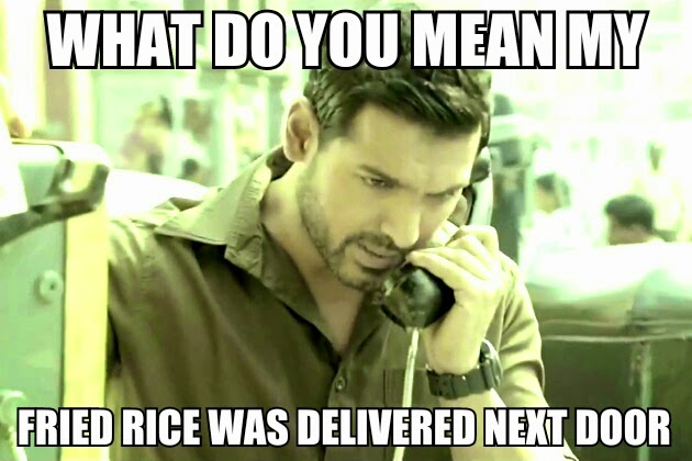 Madras Cafe, John Abraham, Phone, Bollywood Meme, Funny
