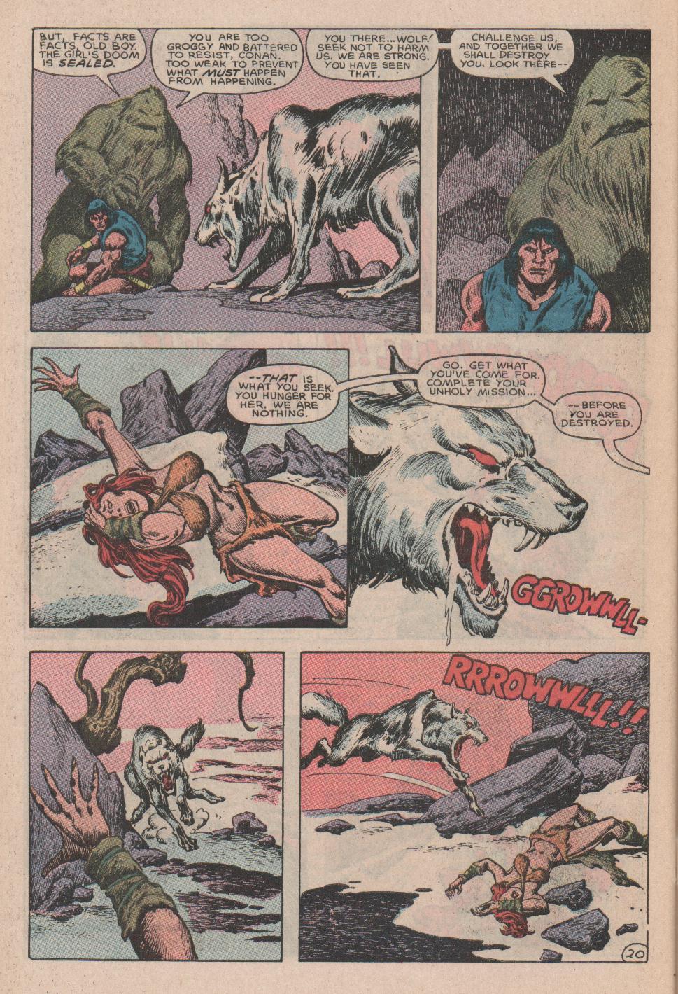 Conan the Barbarian (1970) Issue #178 #190 - English 21