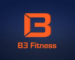 2. B3 Fitness Logo