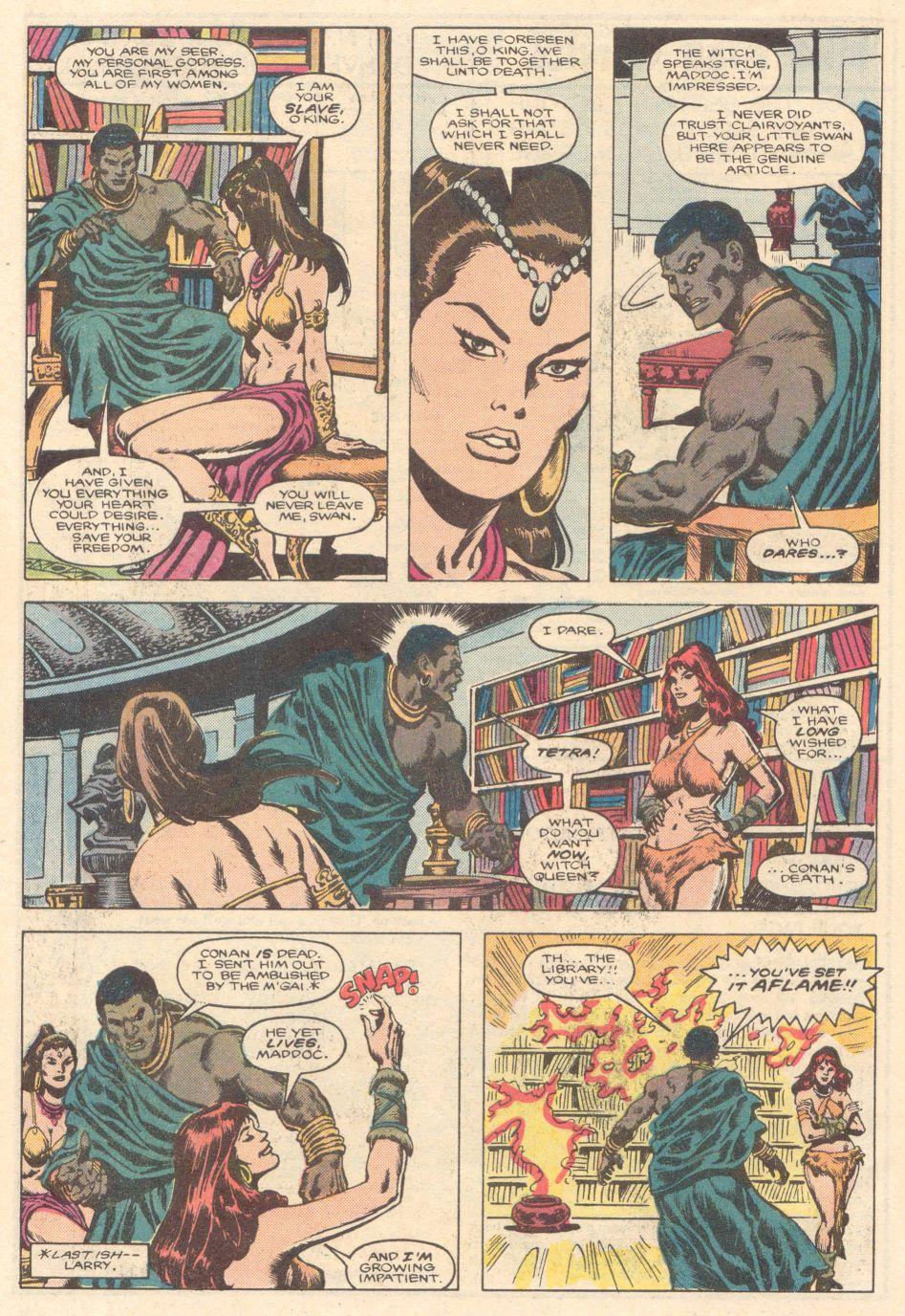 Conan the Barbarian (1970) Issue #183 #195 - English 7