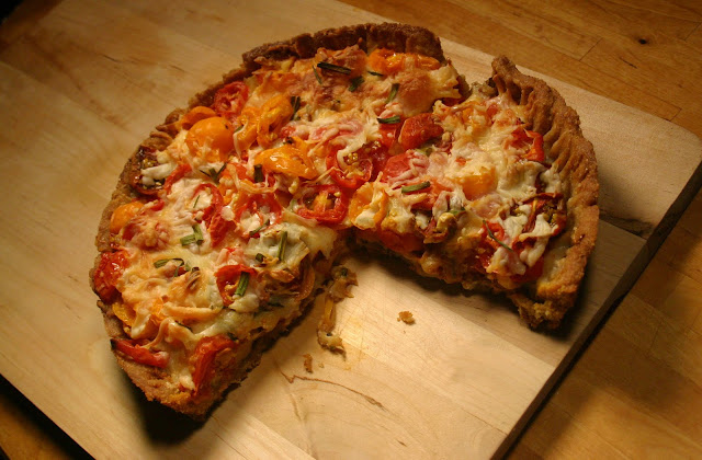 Weird Pizza, savory pie