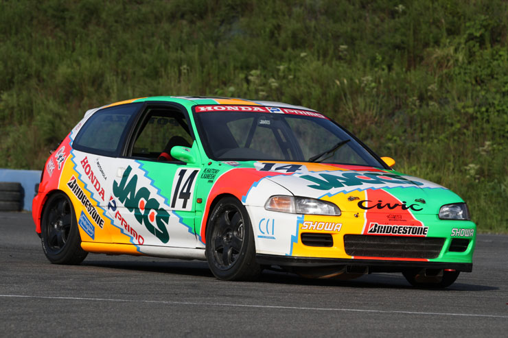 Jaccs Civic, JTCC, kultowa Honda, VTEC is kicking in, racing, wyścigi, race car, hot hatchback, B16A