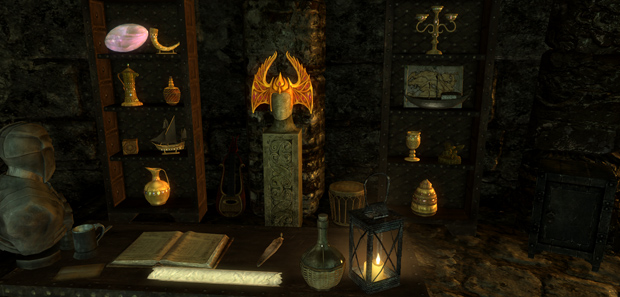 Skyrim Displaying Loot Tip