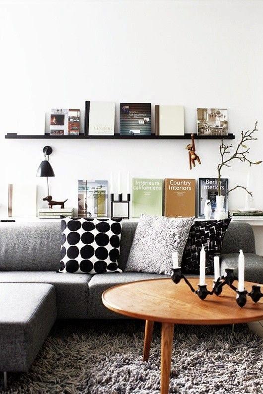 sofas grises decoracion nordica estilo danes