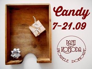 Candy u Pani Komody do 21.09.