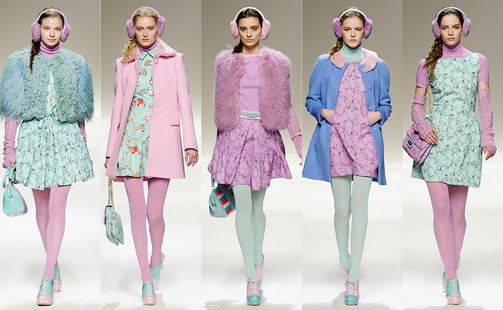 Winter 2013 Fashion Trends: Pastel Hues