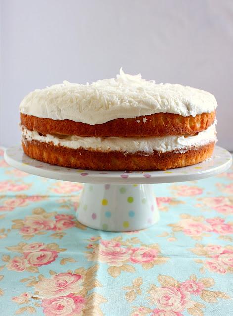 Coconut Cake {A Random Recipe Challenge}